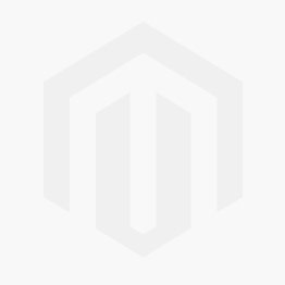 RAL 9010 painted bureau 74 x 140 cm with glass top