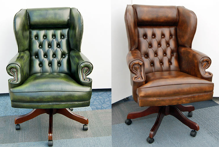 Chairman's swivel chair