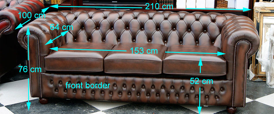 Buckingham sofa bed sizes