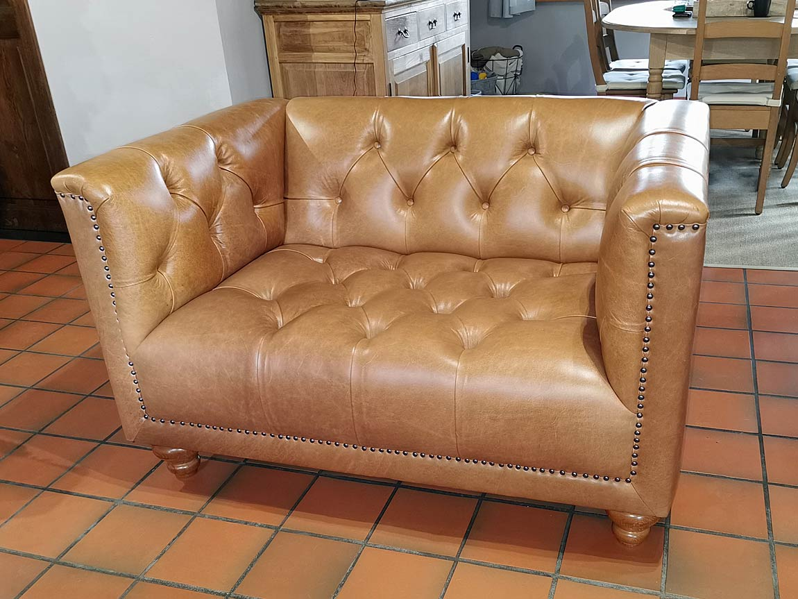 Parliament Chesterfield Love Seat