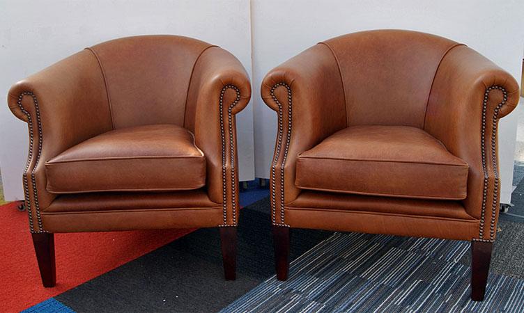 2 x Tiffany Tub Chairs