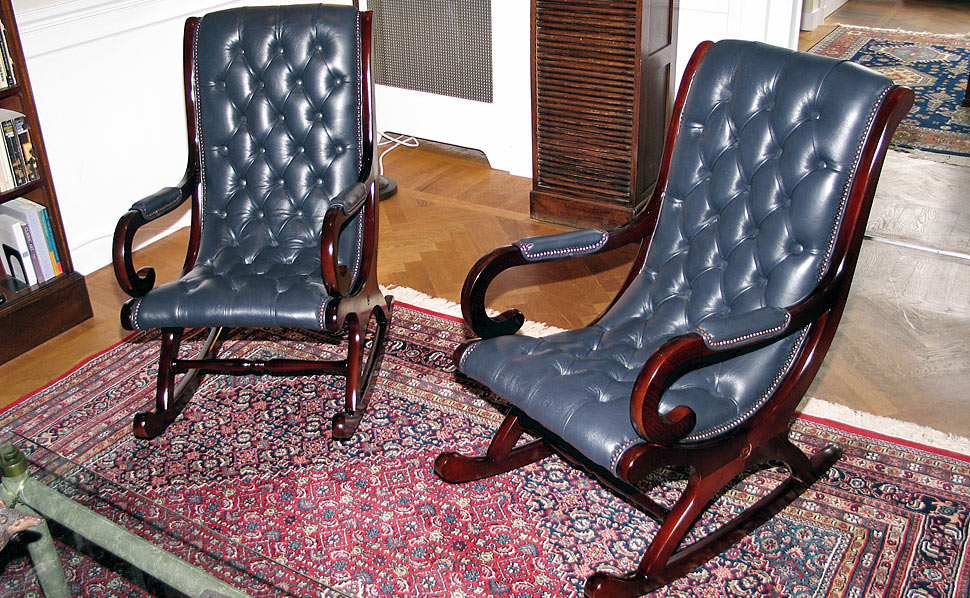 Chesterfield Rocking Chairs