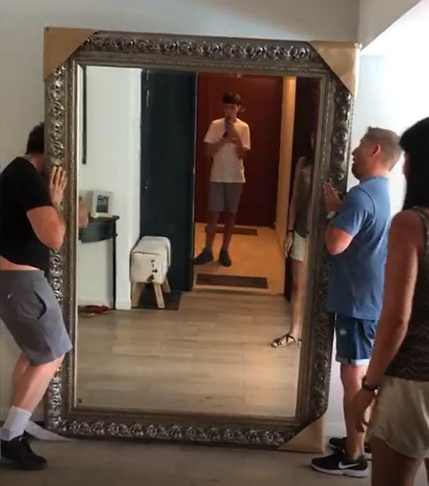 livraison miroir