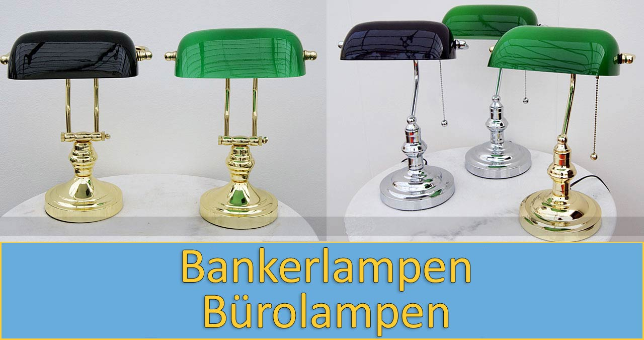 Bankers Lampen
