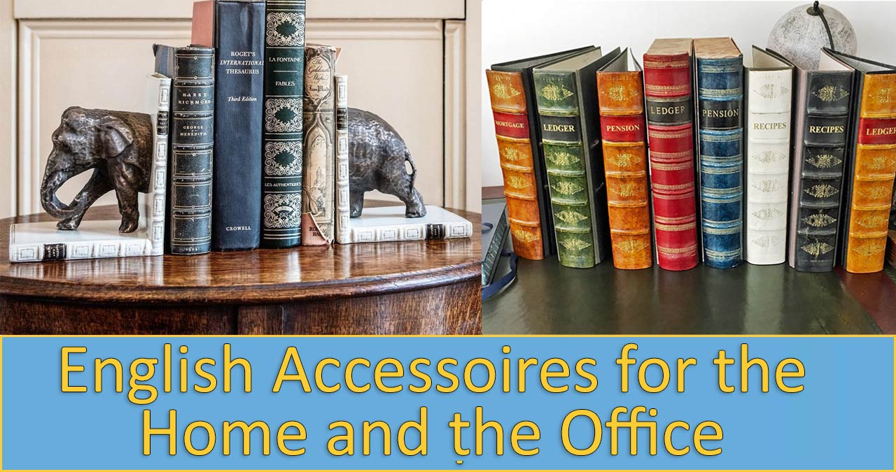 Accessoires for the home and the office