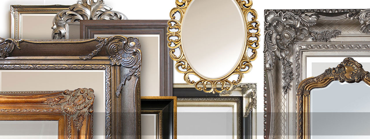 English Decorations MIROIRS BAROQUE