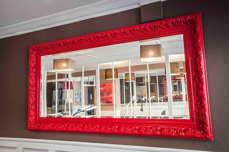 Speciale bestelling geschilderde spiegel