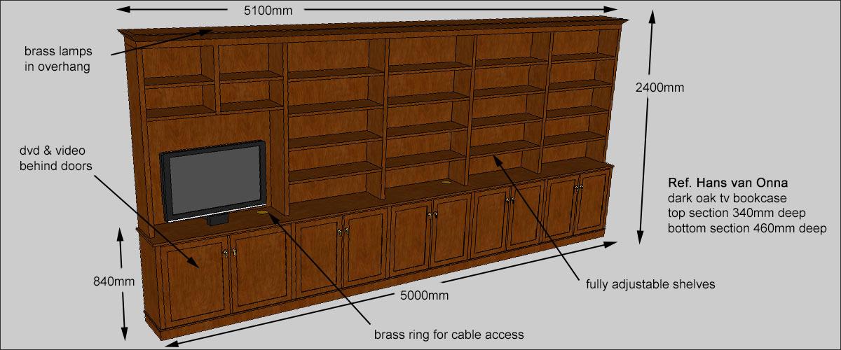 Bookcase design service
