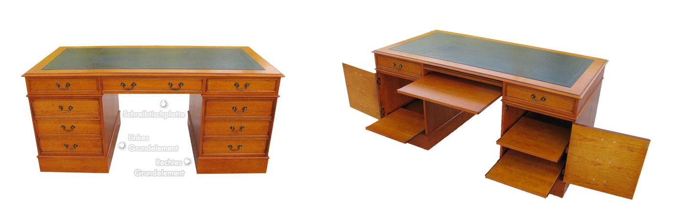 Schreibtisch Standard-Optionen