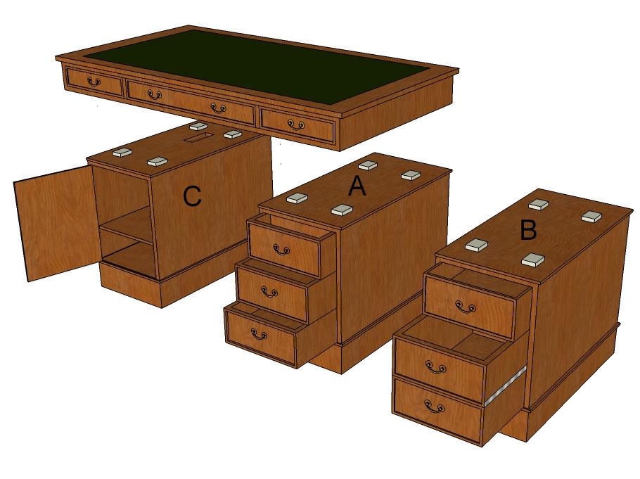 Standard-Schreibtischoptionen