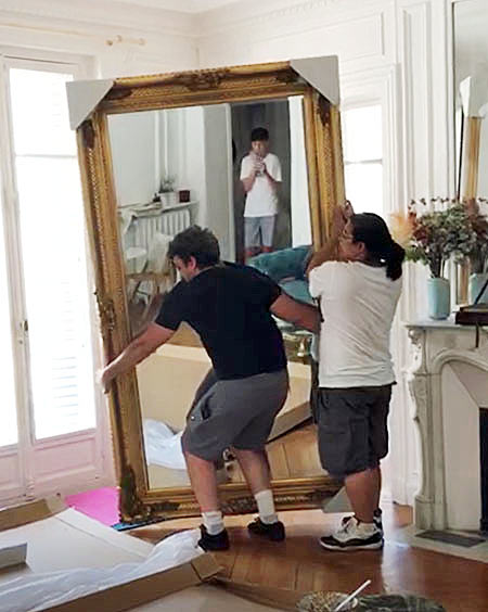grote spiegel Vicenza