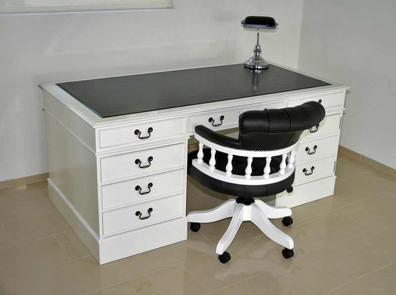 Painted desk with matching Captains chair